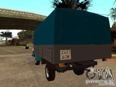 РАФ 33111 для GTA San Andreas вид сзади слева