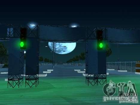Drag-трасса v2.0 Final для GTA San Andreas третий скриншот