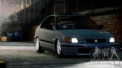 Honda Civic VTİ для GTA 4 вид справа