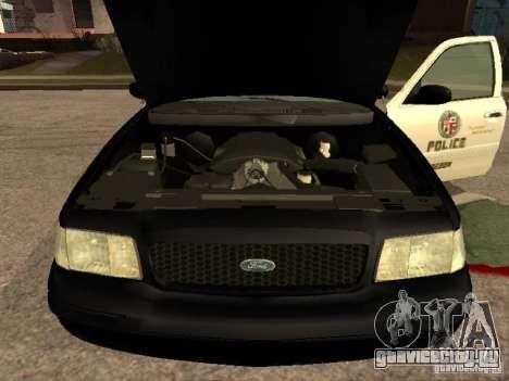 Ford Crown Victoria 2003 Police для GTA San Andreas вид справа