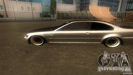 BMW E46 M3 Coupe 2004M для GTA San Andreas