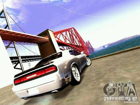 Dodge Challenger SRT8 2009 для GTA San Andreas вид справа