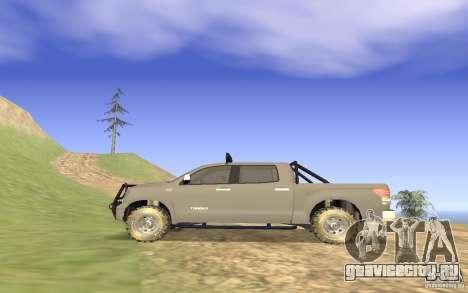 Toyota Tundra 4x4 для GTA San Andreas вид слева