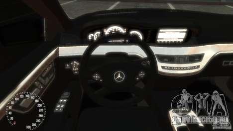 Mercedes-Benz S350 VIP для GTA 4 вид справа