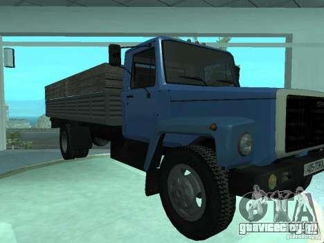ГАЗ-3309 Удлинённый для GTA San Andreas вид слева