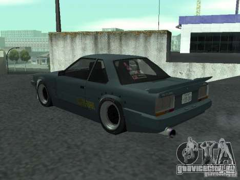 Nissan Skyline RS R30 для GTA San Andreas вид сзади слева