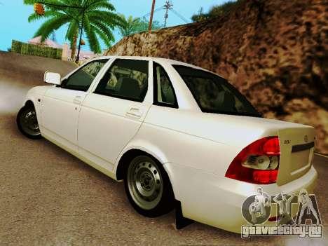 ВАЗ 2170 Люкс v2 для GTA San Andreas