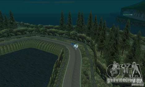 Ралли трасса для GTA San Andreas