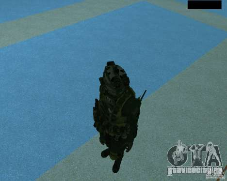 Третий скин солдата из Cod MW 2 для GTA San Andreas шестой скриншот