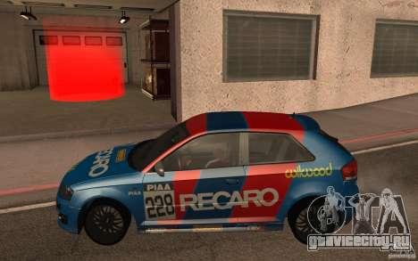 Audi S3 Tunable для GTA San Andreas