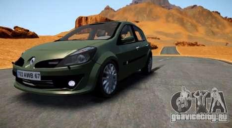 Renault Clio III для GTA 4