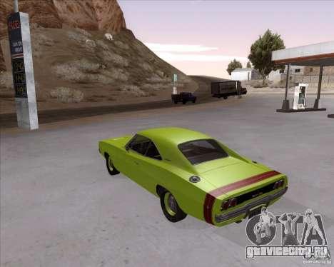 Dodge Charger RT 440 1968 для GTA San Andreas вид слева