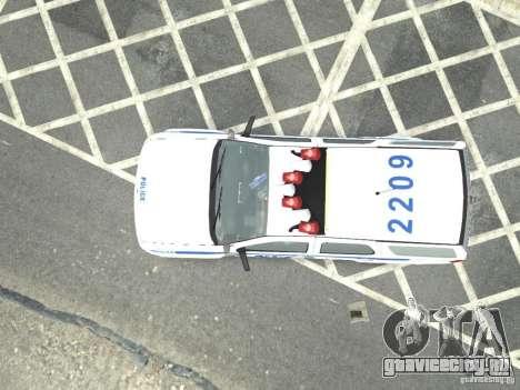 Chevrolet Tahoe NYCPD для GTA 4 вид сзади слева