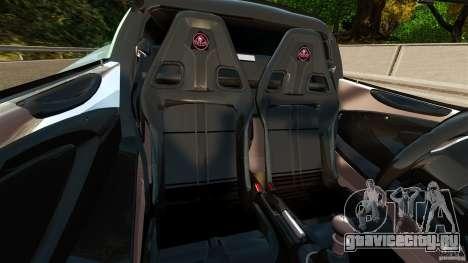 Lotus Exige S 2012 для GTA 4 вид изнутри
