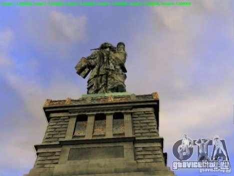 Статуя Свободы 2013 для GTA San Andreas седьмой скриншот