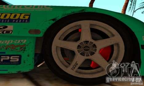Mazda RX7 Falken edition для GTA San Andreas вид изнутри