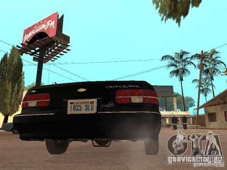 Chevrolet Caprice 1991 LSPD для GTA San Andreas вид справа