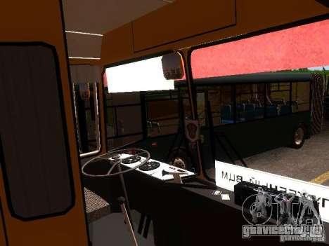 ЛАЗ 4202 для GTA San Andreas вид сверху