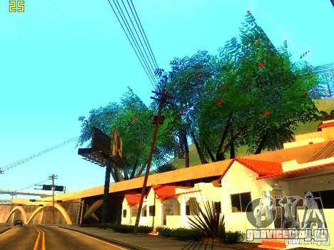 Совершенная растительность v.2 для GTA San Andreas пятый скриншот