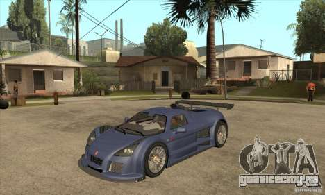 Gumpert Apollo Sport для GTA San Andreas
