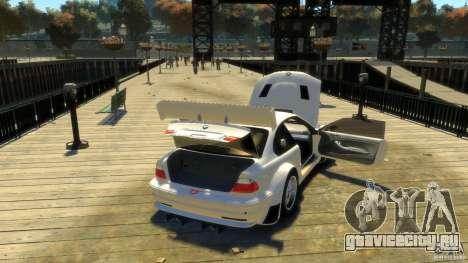 BMW E46 M3 GTR Sport для GTA 4 вид сбоку