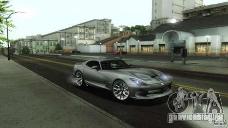 Dodge SRT Viper GTS 2012 V1.0 для GTA San Andreas вид снизу