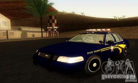 Ford Crown Victoria Orgeon Police для GTA San Andreas