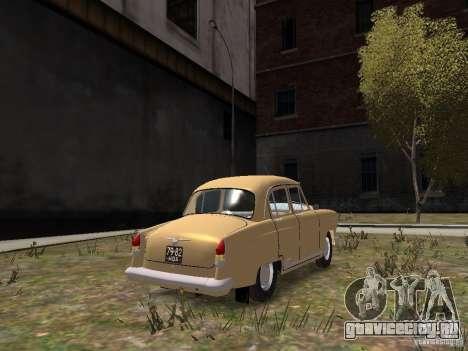 ГАЗ 21Р для GTA 4 вид сзади
