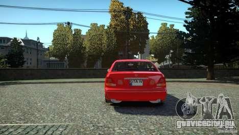 Toyota Aristo для GTA 4 вид сзади слева