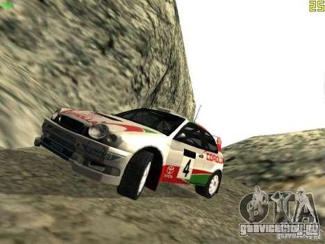 Toyota Corolla 1999 Rally Champion для GTA San Andreas
