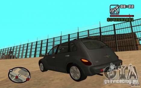 Chrysler PT Cruiser для GTA San Andreas вид слева