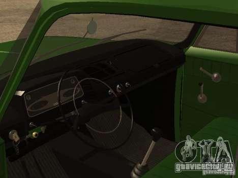 ИЖ 2715 Ранняя версия для GTA San Andreas вид сзади