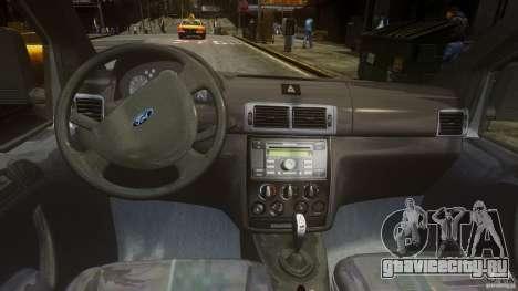 Ford Connect 2007 для GTA 4 вид справа