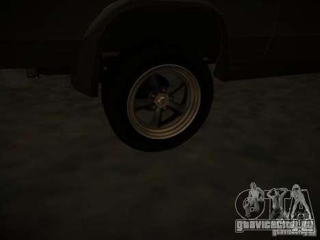 GMC Vandura для GTA San Andreas вид сбоку