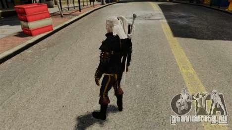 Геральт из Ривии v3 для GTA 4 четвёртый скриншот