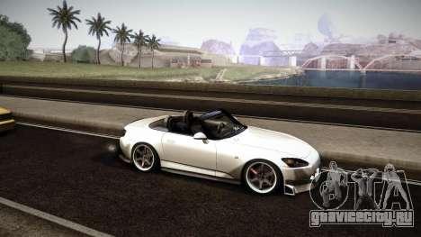 Honda S2000 HellaFlush для GTA San Andreas вид сбоку