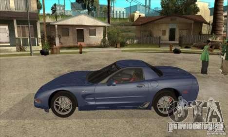 Chevrolet Corvette 5 для GTA San Andreas салон