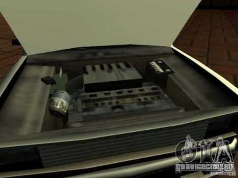 New Tuned Bobcat для GTA San Andreas вид справа