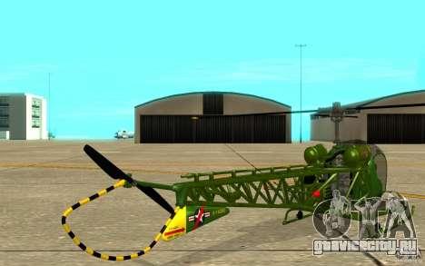 Bell H13 для GTA San Andreas вид справа
