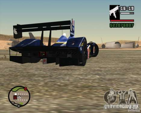 Acura ARX LMP1 для GTA San Andreas вид сбоку
