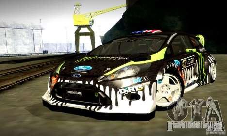 Ford Fiesta Gymkhana 4 для GTA San Andreas вид сбоку