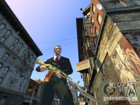 AK-47 для GTA 4 третий скриншот