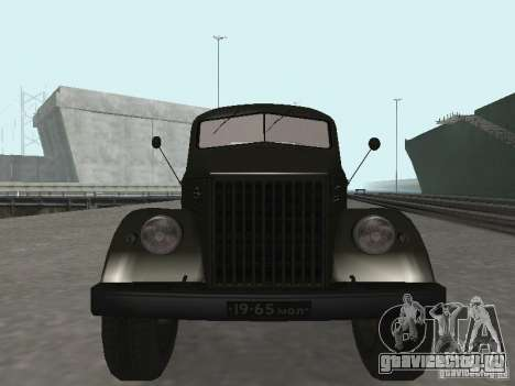 ГАЗ 51П для GTA San Andreas вид сзади