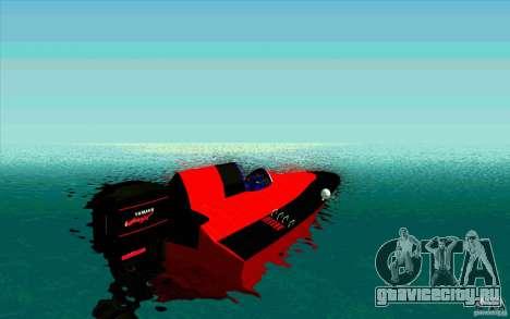 Race Boat для GTA San Andreas вид сзади слева