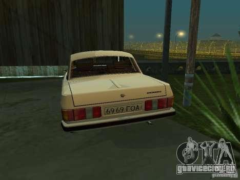 ГАЗ 3102 для GTA San Andreas вид справа