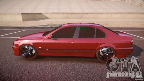 BMW M5 E39 Hamann [Beta] для GTA 4 вид слева