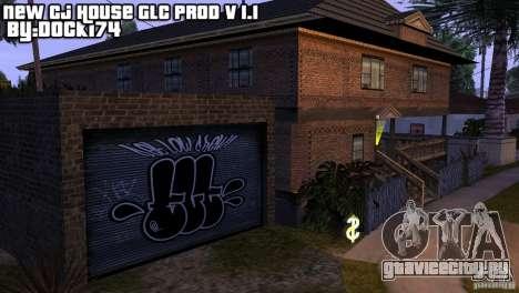 Новый дом CJ (New Cj house GLC prod V 1.1) для GTA San Andreas