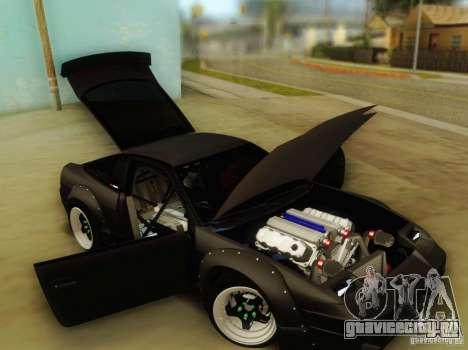 Nissan 240SX Rocket Bunny для GTA San Andreas вид сзади