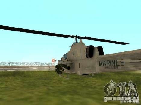 AH-1 Supercobra для GTA San Andreas вид справа