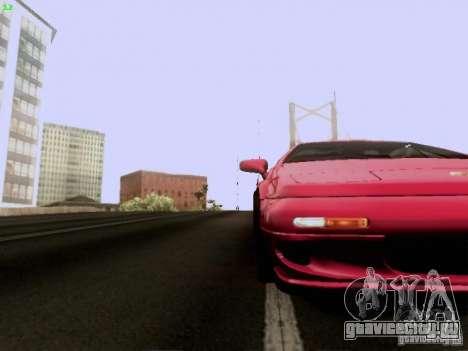 Lotus Esprit V8 для GTA San Andreas вид сверху